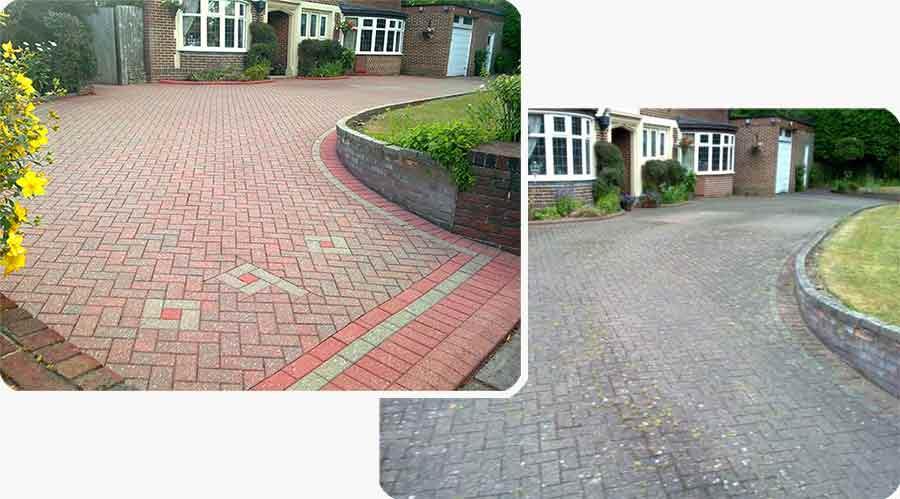 cleaning driveways in edinburgh